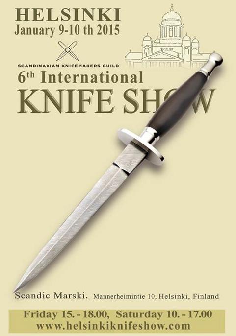 Helsinki knife show 2015